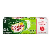 Canada Dry Ginger Ale - 12 pk