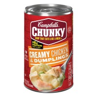 Campbell's Chunky Chicken & Dumplings Creamy Soup