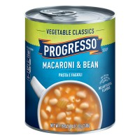 Progresso Vegetable Classics Macaroni & Bean Soup-Pasta E Fagioli