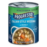 Progresso Italian-Style Wedding Soup Reduced Sodium