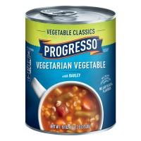 Progresso Vegetable Classics Vegetarian Vegetable with Barley Soup