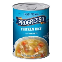 Progresso Soup Traditional Chicken Rice with Vegetables Gluten Free