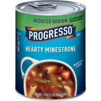 Progresso Hearty Minestrone Soup Reduced Sodium
