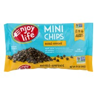 Enjoy Life Semi-Sweet Chocolate Chips Mini Dairy, Nut & Soy Free Non-GMO