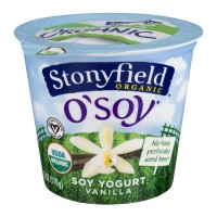Stonyfield O'Soy Soy Yogurt Vanilla Organic
