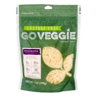 GO VEGGIE Mozzarella Style Shreds Lactose Free