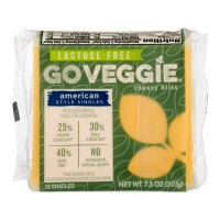 GO Veggie! Cheesy Bliss American Style Singles Lactose Free - 12 ct