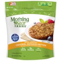 MorningStar Farms Breakfast Veggie Sausage Patties Original - 6 ct