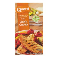 Quorn Naked Chik'n Cutlets Meatless & Soy Free Frozen