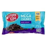 Enjoy Life Semi-Sweet Chocolate Mega Chunks Dairy, Nut & Soy Free