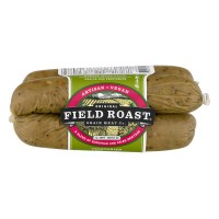 Field Roast Grain Meat Sausages Apple Sage Smoked Vegan - 4 ct