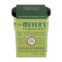 Mrs. Meyer's Clean Day Soy Candle Iowa Pine