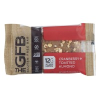 The GFB Gluten Free Bar Cranberry Toasted Almond Soy Free Non-GMO