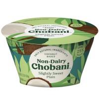 Chobani Coconut Based Non-Dairy Slightly Sweet Plain