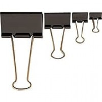 Staples® 15348 Mini Binder Clip, 12 PK, Black