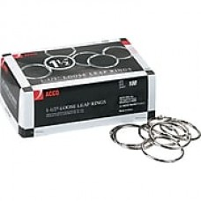 "ACCO Loose Leaf Rings, 1 1/2"", 100/Pk (ACC72204)"
