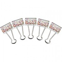 "Teacher Created Resource Binder Clips, Medium, .5"" wide, 24/Pk (TCR20857)"