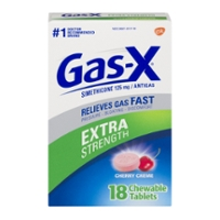 Gas-X Anti Gas Extra Strength Cherry Creme Chewable Tablets