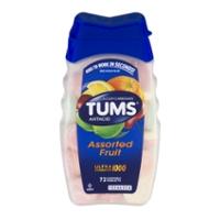 TUMS Antacid Calcium Carbonate Ultra Strength 1000 Assorted Fruit