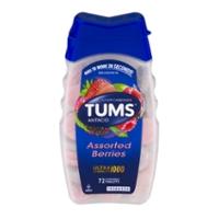 TUMS Antacid Calcium Carbonate Ultra Strength 1000 Assorted Berries