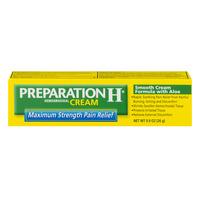 Preparation H Hemorrhoidal Cream Pain Relief with Aloe Maximum Strength