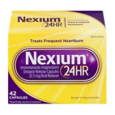 Nexium 24HR Acid Reducer Treats Frequent Heartburn Capsules