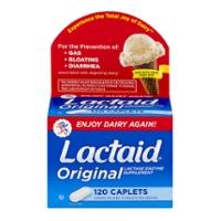 Lactaid Original Lactase Enzyme Supplement Caplets