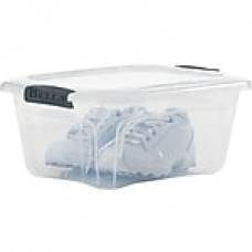 Bella Storage Solution® 5.5 Quart Plastic Locking Lid Container