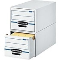 Bankers Box Stor/Drawer Storage Drawer, Letter, Stacks Up to 2 High, 1/Ea (00721)