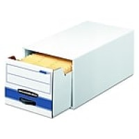 Bankers Box Stor/Drawer Storage Drawer, Legal, Stacks Up to 2 High, 1/Ea (00722)
