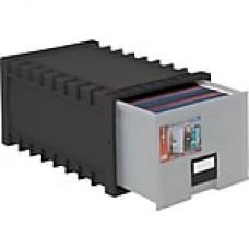 Storex Plastic Archive Storage Drawer, Letter/Legal Size, Black (61106U01C)