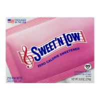 Sweet 'N Low Zero Calorie Sweetener - 250 ct