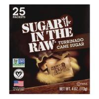 Sugar In The Raw Cane Turbinado Sugar Natural - 25 ct