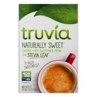 Truvia Nature's Calorie Free Sweetener Packets Non-GMO - 40 ct