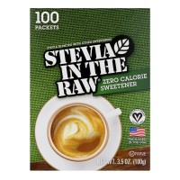 Stevia In The Raw Zero Calorie Sweetener Packets Natural - 100 ct