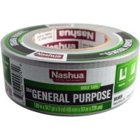Nashua Tape 1.89 in. x 55 yd. 394 General Purpose Duct Tape in Silver