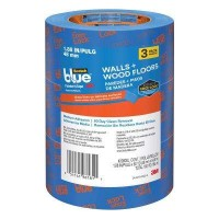 3M ScotchBlue 1.88 in. x 60 yds. Walls and Wood Floors Painter's Tape with Edge-Lock (3-Pack)