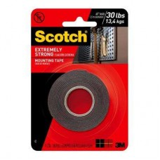 3M Scotch 1 in. x 1.66 yds. Permanent Double Sided Extreme Mounting Tape