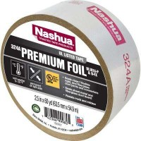 Nashua Tape 2.5 in. x 60 yd. 324A Premium Foil UL Listed HVAC Tape
