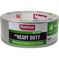 Nashua Tape 300 Heavy-Duty 1.89 in. x 30 yd. Duct Tape in Silver