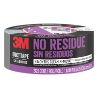 3M Scotch 1.88 in. x 25 yds. Tough No Residue Painter's Duct Tape