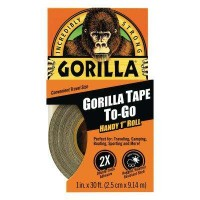 Gorilla 1 in. x 10 yds. Handy Roll Tape