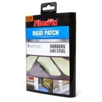 FiberFix 2 in. x 8 in. 3 in. x 3 in. 5 in. x 5 in. Rigid Patch (3-Pack)