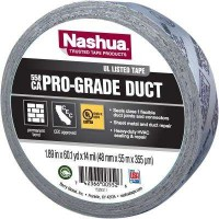 Nashua Tape 1.89 in. x 60 yd. 558CA Pro-Grade UL Listed Duct Tape