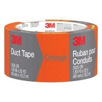 3M 1.88 in. x 20 yds. Orange Duct Tape (Case of 12)
