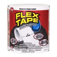 Flex Tape 4 in. x 5 ft. Tape in White