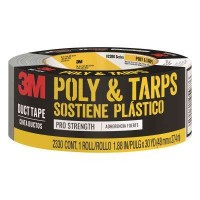 3M Scotch 1.88 in. x 30 yds. Tough Poly Hanging and Tarps Strength Duct Tape