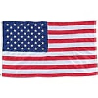 Nylon American Flag, 4'x6', Stitched