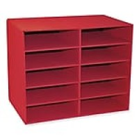 "Pacon CLASSROOM KEEPERS® 10-Shelf Organizer, 12.88"" x 21"" x 17"""