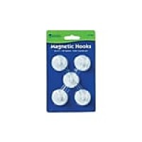 Learning Resources Magnetic Hooks, White (LER 2698)